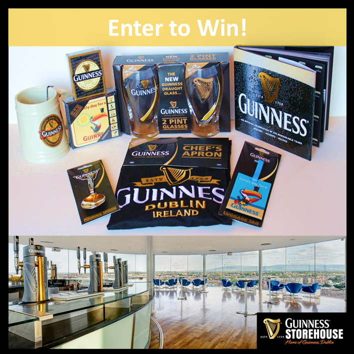 Guinness Storehouse Dublin Ireland Blog giveaway image FINAL