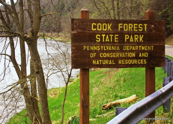 Man On The Lam Top 100 Travel Blog Posts of 2015 so far by social media shares  Reasons to Visit Cook Forest State Park