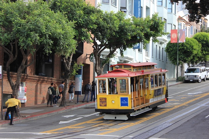 Man On The Lam Top 100 Travel Blog Posts of 2015 so far by social media shares  San Francisco Trolley