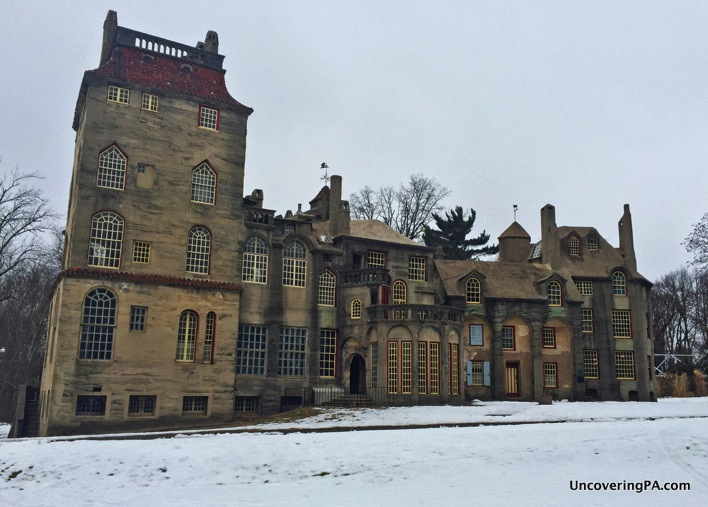 Man On The Lam Top 100 Travel Blog Posts of 2015 so far by social media shares  Visiting Fonthill Castle exterior