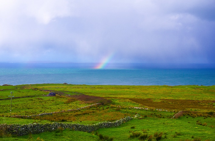 Man On The Lam Top 100 Travel Blog Posts of 2015 so far by social media shares  rainbows in Ireland