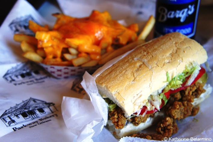 Man On The Lam Top 100 Travel Blog Posts of 2015 so far by social media shares  traditional new orleans food Poboy