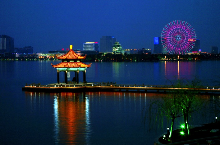 Suzhou Industrial Park and Jinji Lake  Suzhou  The Venice of China and the City of Scholars