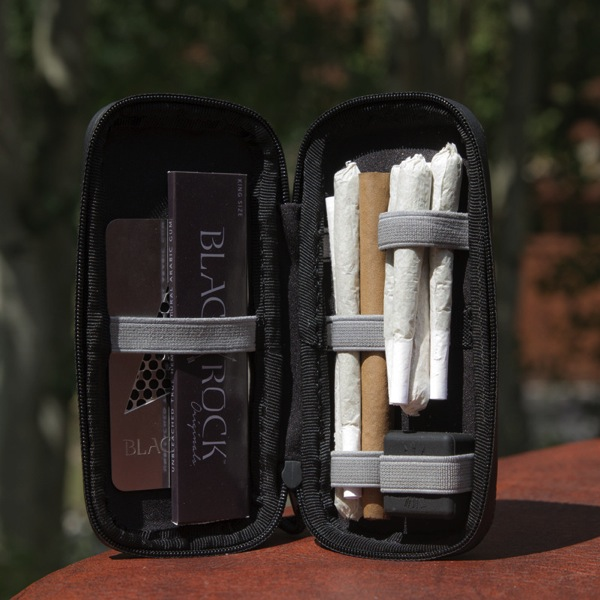 Black Rock Og Safety Case for Cannabis Christmas gift ideas for the pot smoking traveller