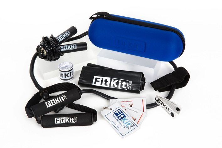 FitKit travel fitness kit Christmas gifts for men and womein who love travel