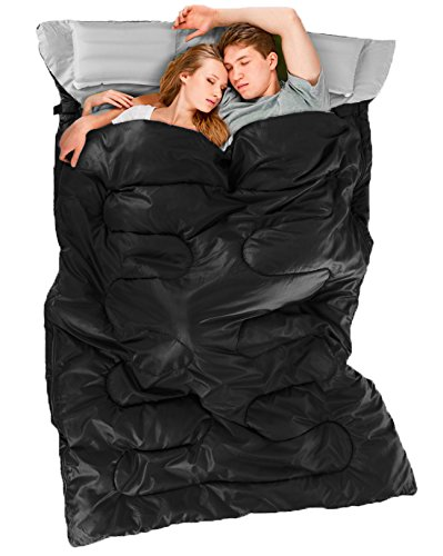 Ohuhu Double Sleeping Bag Christmas Gifts for men and women who travel