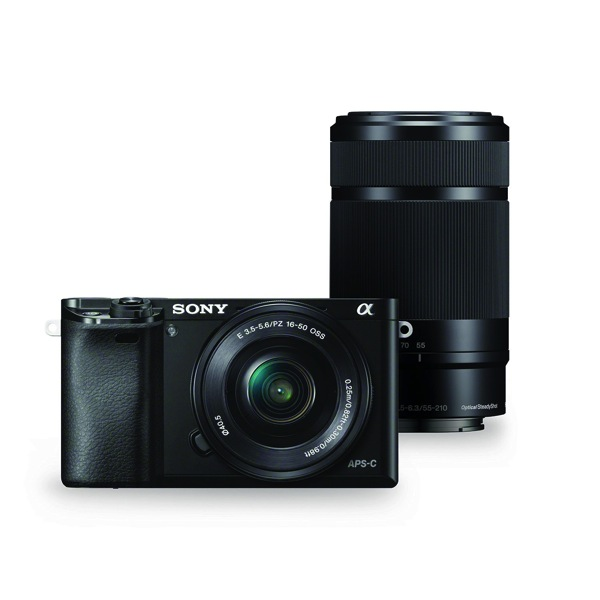 Sony Alpha a6000 Mirrorless camera Christmas gifts for travellers manonthelam