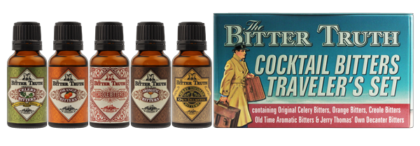 The Bitter Truth Travelers Cocktail Set Christmas Gifts for Travelers