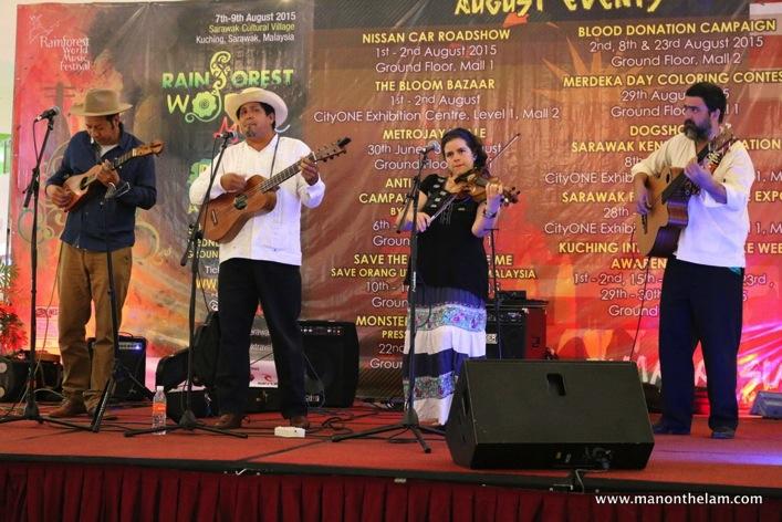 Rainforest World Music Festival Sarawak Borneo Malaysia -- Mexico's Son de Madera