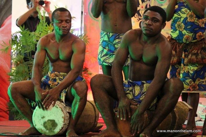 Rainforest World Music Festival Sarawak Borneo Malaysia -- Ndiga from Brazzaville, Congo