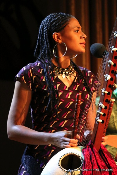 Rainforest World Music Festival Sarawak Borneo Malaysia - Sona Jobarteh from Gambia