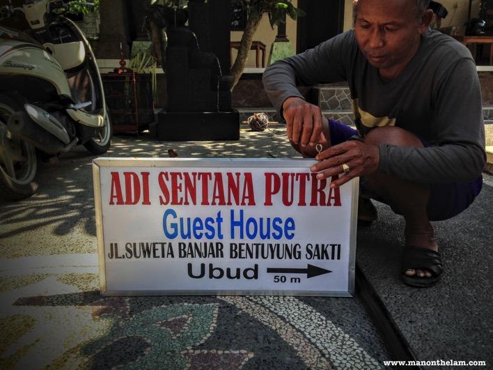 Adi Sentana Putra Guesthouse Ubud Bali