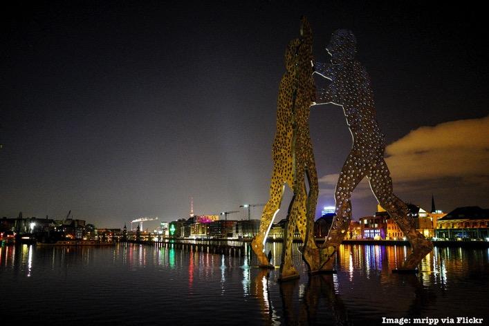 Berlin Germany at night