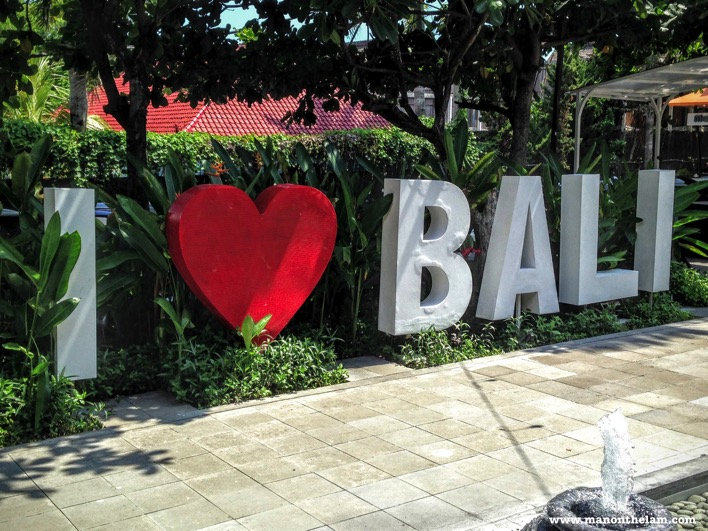 I Heart Bali sign