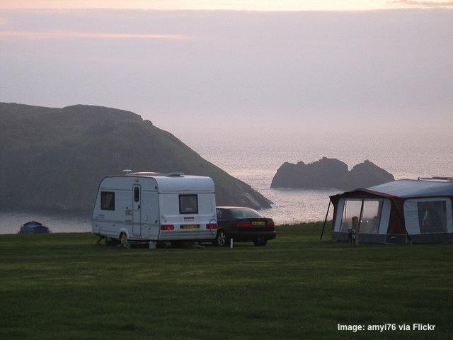 Caravan park UK