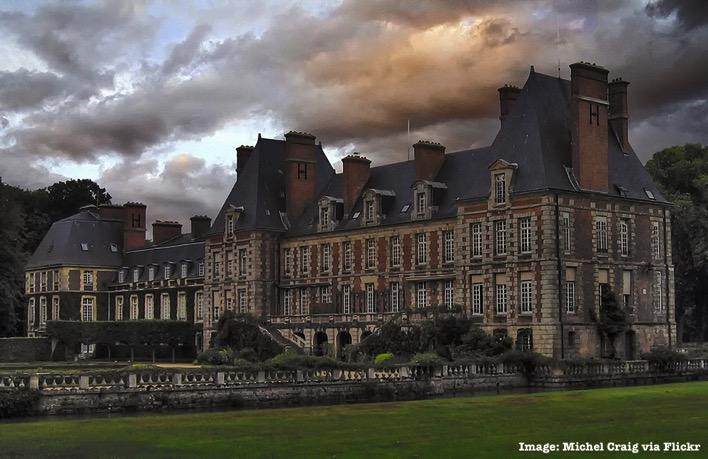 Château de Courances France castle