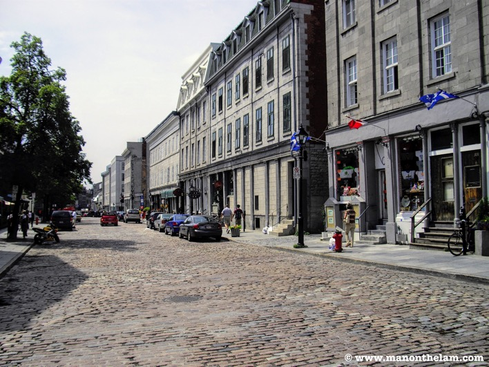 Montreal Old City Quebec