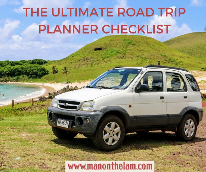 Road Trip Planner Checklist