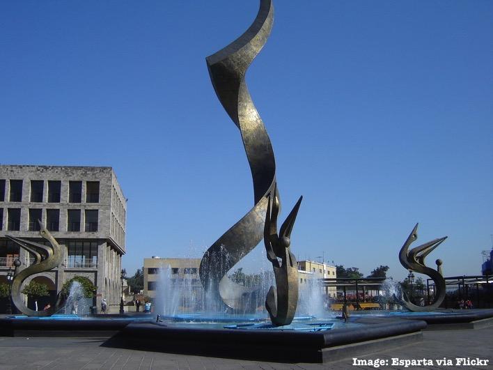 Plaza Tapatia Guadalajara Mexico
