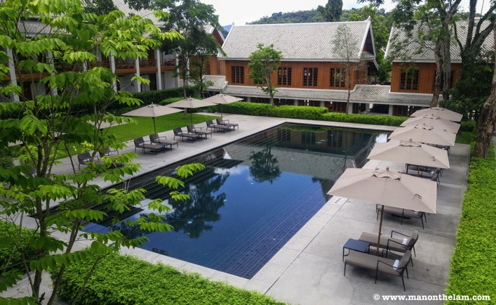 Avani+ Luang Prabang Laos boutique hotel with pool