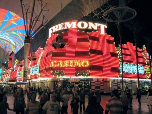 Freemont street casinos las vegas