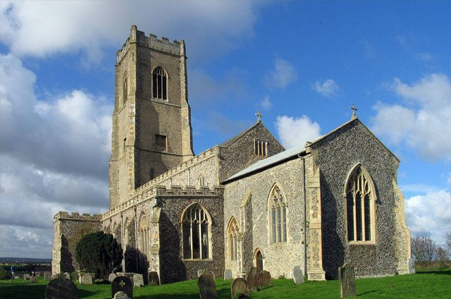 saint mary's church happisburgh
