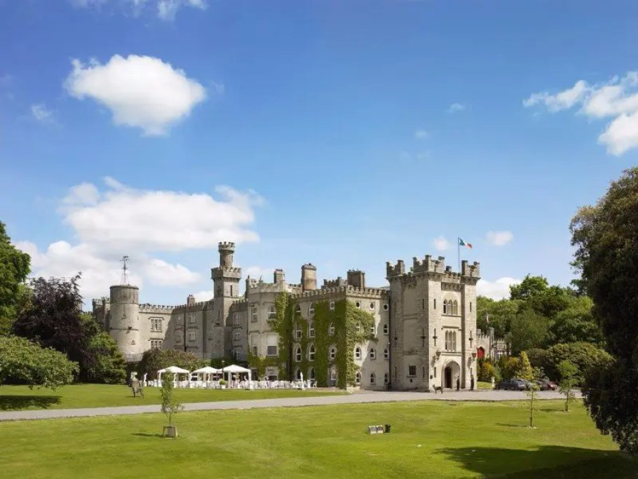 Exterior view, Cabra Castle Hotel, Co. Cavan. Ireland