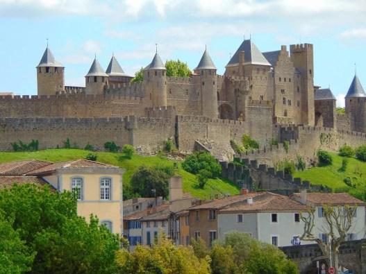 Carcassonne Castle & Fortress, France.