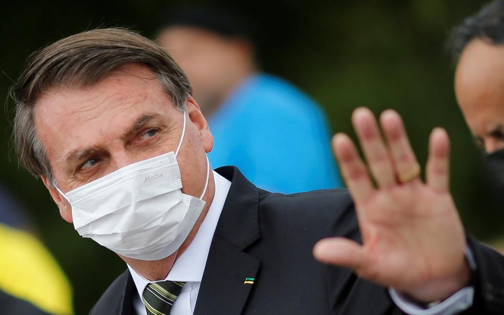 'Não vai ter lockdown nacional', garante Bolsonaro