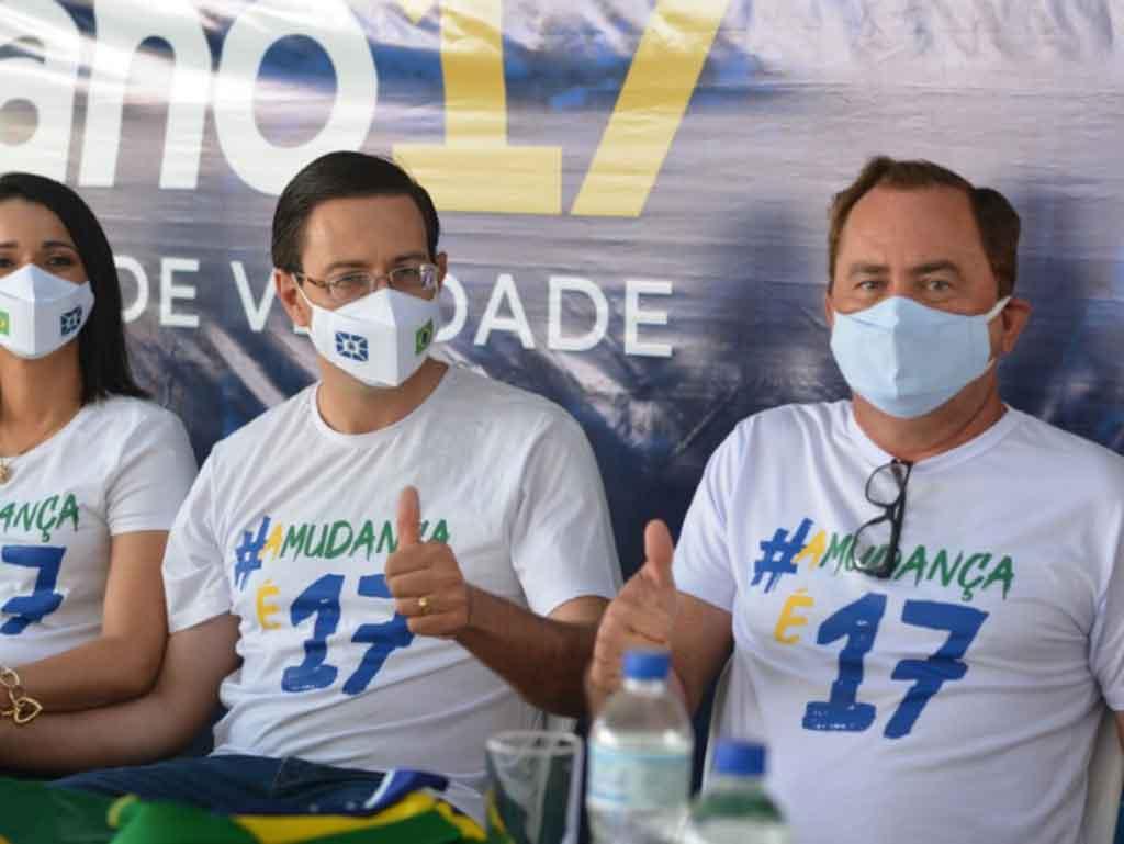 Convenção do PSL oficializa a candidatura de VALERIANO
