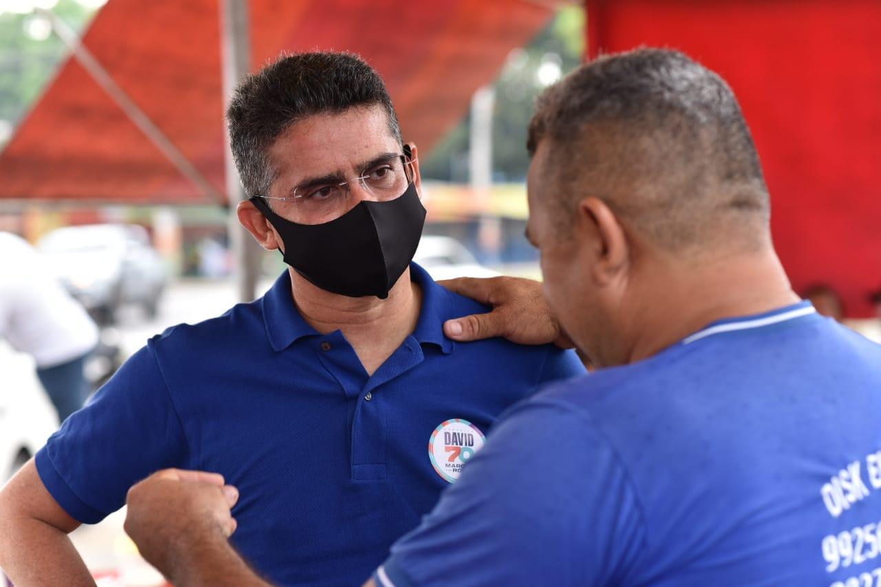 Desafogar trânsito de Manaus é compromisso de davi e Marcos Rotta