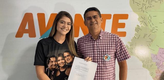 Filha do Prefeito Eleito David Almeida assume presidência nacional do Avante Jovem