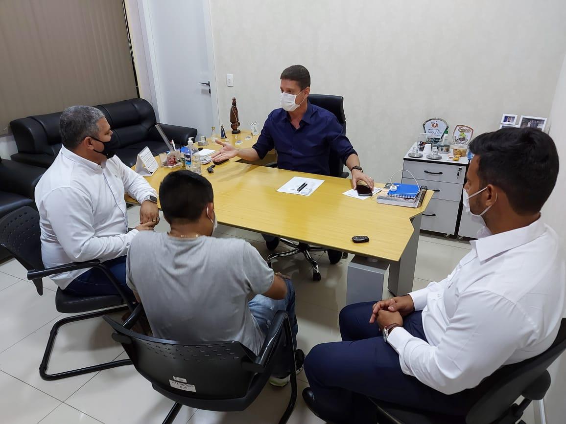 Em reunião com Marcos Rotta, Elan Alencar firma parceria para buscar desenvolvimento de Manaus