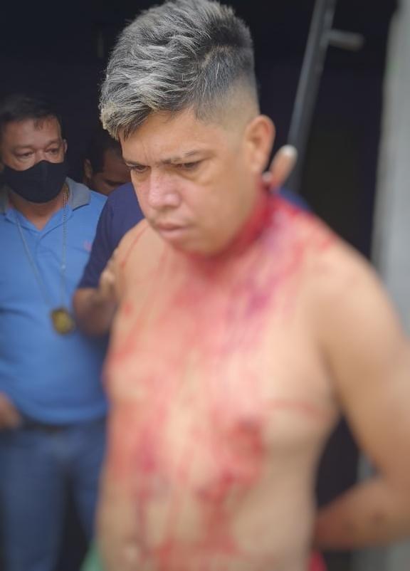 URGENTE: Polícia impede que assassino de Verônica, morta a facadas e depois queimada, cometa suicídio