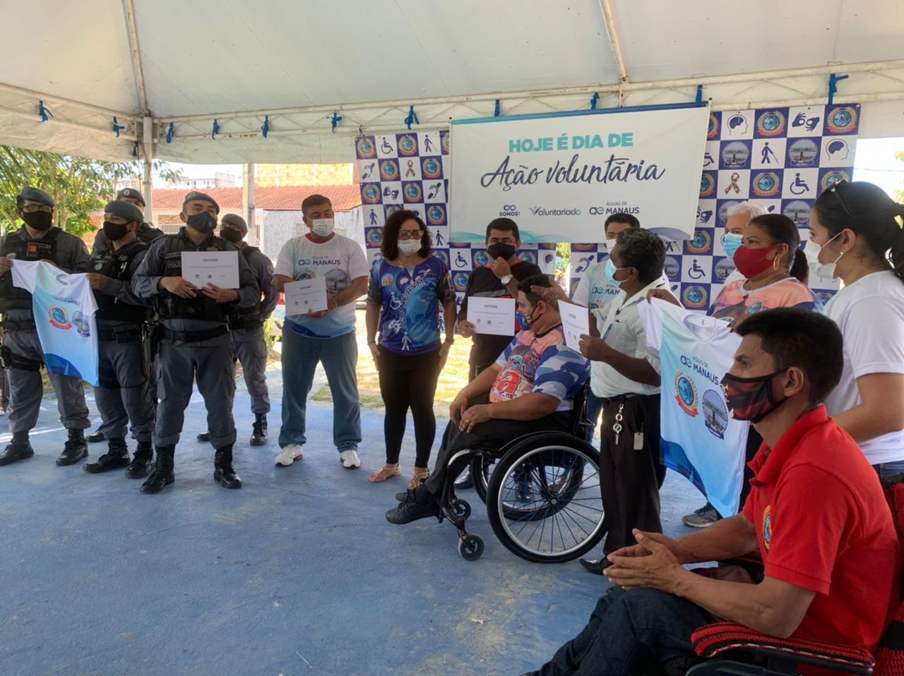 Deputado Dermilson Chagas recebe homenagem por apoiar projeto de inclusão social de PcDs no Viver Melhor I