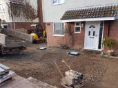 Digging out and removal of existing driveway3