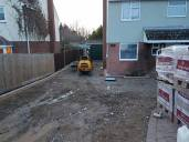 Digging out and removal of existing driveway5