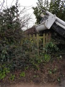 Marking up & digging out shed base goldhanger5