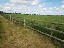 Making good of a boundary fence Green Lanes Burnham-on-Crouch (before) 4