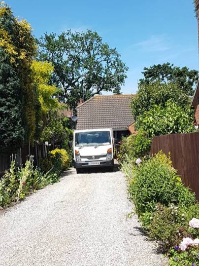 Reducing oak tree Burnham on Crouch with a (tpo) x2 metres reduced 5% thin all correct procedures have been taken - before 17
