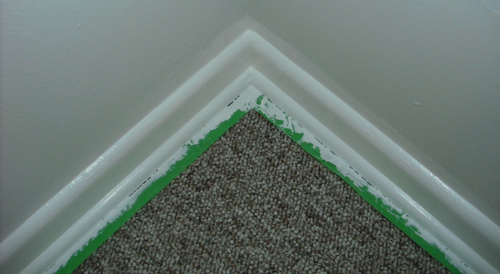 How do i paint baseboards without getting paint on the carpet  Manor Works
