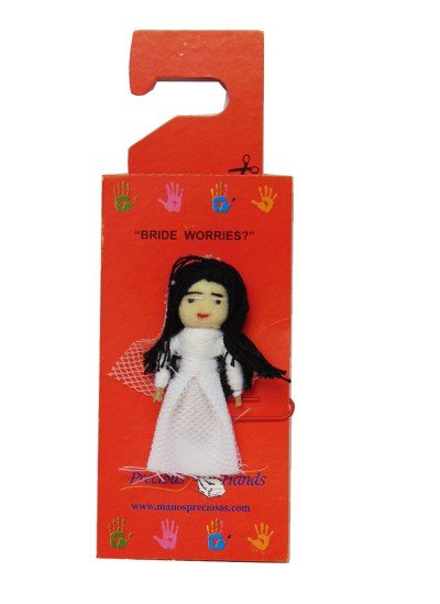 Worry Doll Bride (Includes 5 Worry Dolls)
