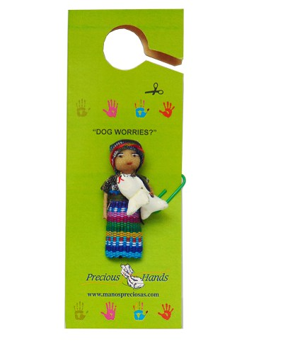 Worry Doll Dog 1700 (Includes 5 Worry Dolls)