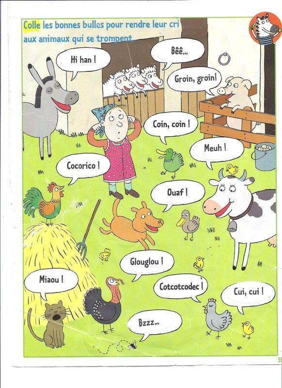 Cris Animaux De La Ferme : animaux, ferme