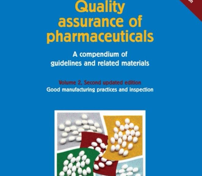 Quality Assurance of Pharmaceuticals – BOOK pdf DOWNLOAD