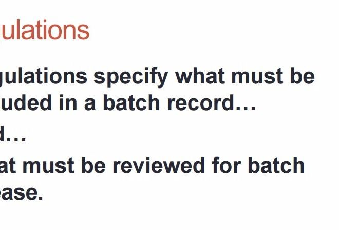 BATCH RECORD REVIEW/ RELEASE BY EXCEPTION – PDF Download