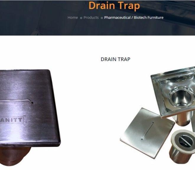 Cleanroom drainage