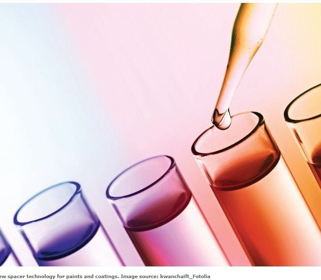 Additives: New spacer technology for paints and coatings
