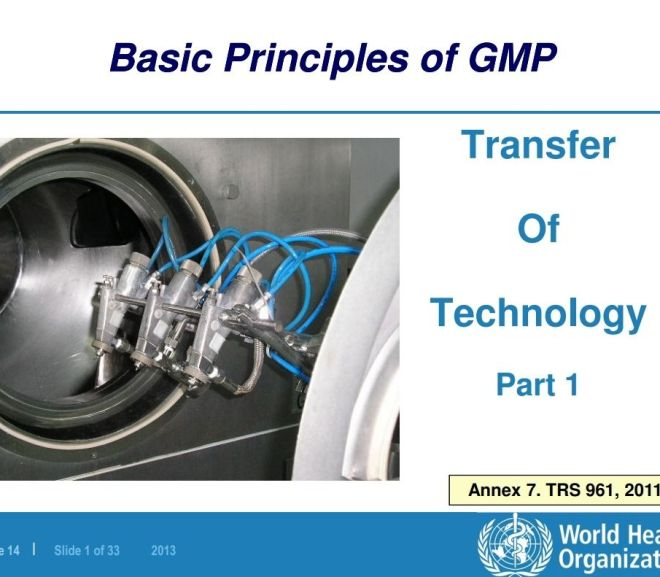 Transfer Of Technology – WHO – Free Powerpoint download