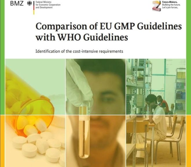 Comparison of EU GMP Guidelines with WHO Guidelines – Free PDF download